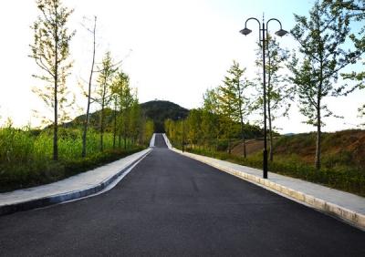 竹山南山公园秋色斑斓