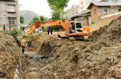 北门沟雨污管网年底前将完成建设任务