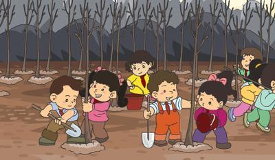 柳林乡谋划春季绿化