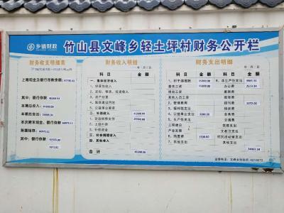 文峰乡:加强财务公开 接受群众监督