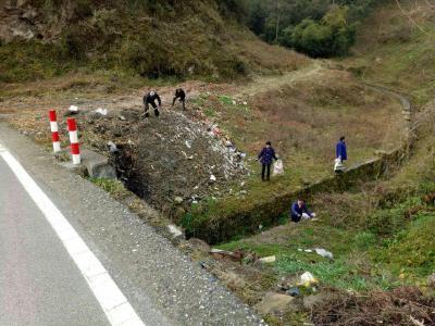 文峰乡:推进垃圾治理共建美丽家园