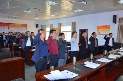 县市场监督管理局机关支部开展4月份主题党日活动