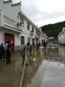 多方救援 竹坪灾后生产生活秩序逐步恢复
