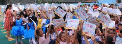 明清幼儿园:童心筑梦 感恩成长