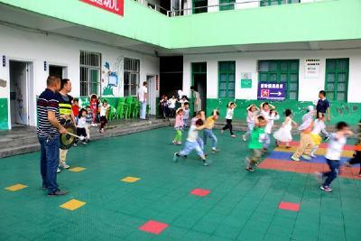 1分30秒,竹坪幼儿园277名幼儿全部撤离到安全地带