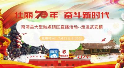 直播丨壮丽70年 奋斗新时代:南漳县大型融媒镇区直播活动走进武安镇
