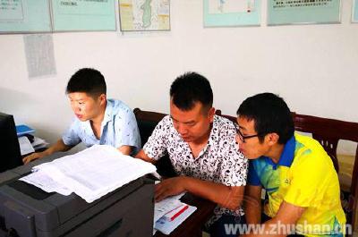 上庸镇:精准扶贫 教师在行动