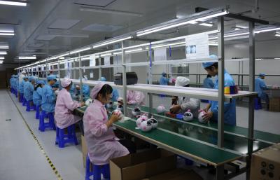 粤乐电子科技公司实现满负荷生产