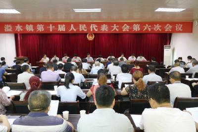 溢水镇召开第十届人民代表大会第六次会议