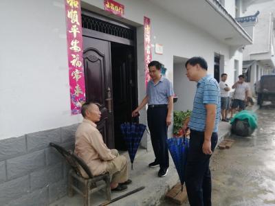 县领导到官渡镇调研基层党建工作