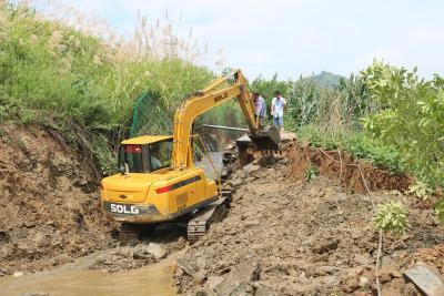 溢水镇:广大干群全力排险救灾