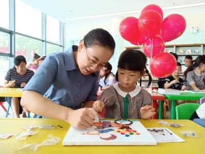 竹山图书馆:活动求创新  阅读欢乐多