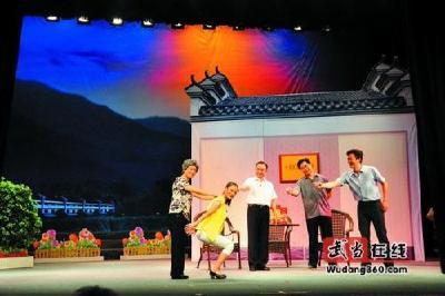 竹山高腔戏的历史传承