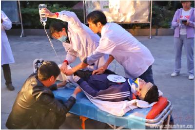 县妇幼保健院组织开展急诊急救应急演练