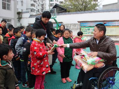 竹山:愛心傳遞  情暖兒童