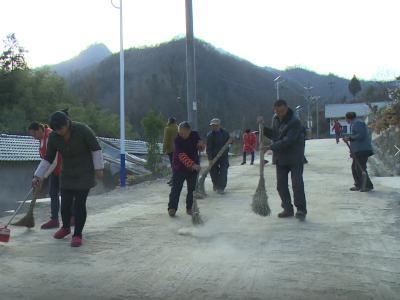 雙臺鄉:開展冬季環境整治集中大行動