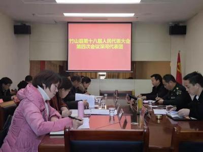王少華參加深河鄉代表團討論