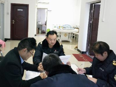 柳林鄉市場監管所:雙休假日充電忙