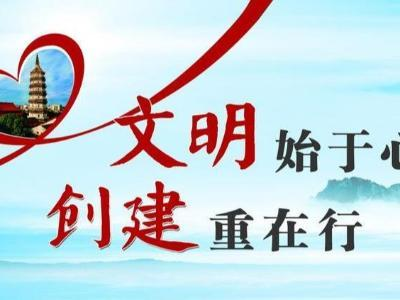 县行政审批局:扎实开展创文志愿服务活动