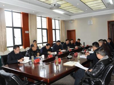 萧氏茶业集团来竹考察茶叶产业