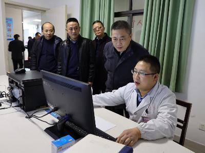 省衛健委來竹調研衛生健康重點工作