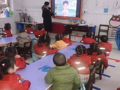 """實驗幼兒園開展""""流行疾病我不怕""""主題教育活動"""