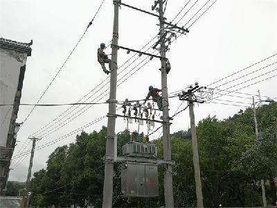 新变压器投运保障群众春节用电无忧