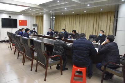 陳建平主持召開縣疫情防控指揮部會議研究落實省市相關精神