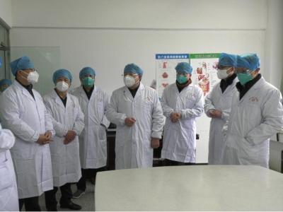 龔舉海督導縣人民醫院疫情防控