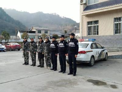 大庙乡:节前治安巡逻 维护社会稳定