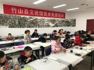 县文化馆举办寒假青少年免费培训班