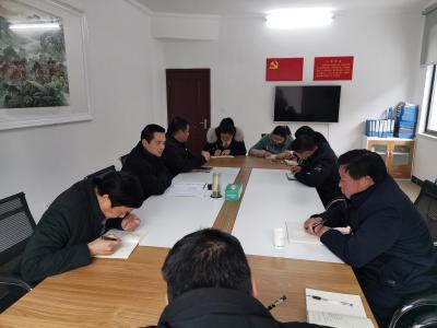 县退役军人事务局组织节前廉政谈话