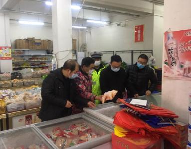 得胜镇:持续开展市场监管  保障居民物质供应