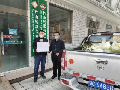 雙臺鄉:愛心人士捐贈蔬菜助力防疫