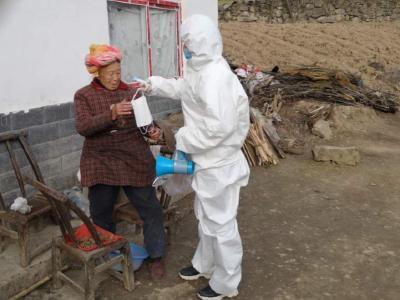 柳林鄉衛生院:體溫監測全覆蓋
