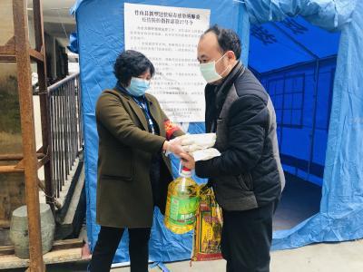 城關鎮:疫情防控期間,全力保障困難群體