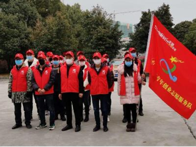 城关镇组织志愿者开展疫情防控工作