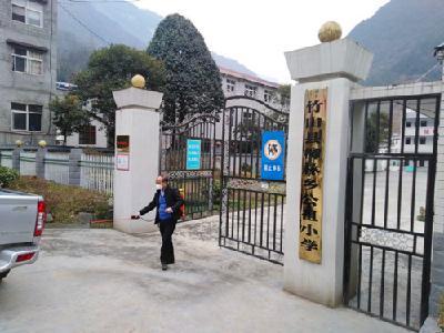 柳林乡公祖小学:内外联动 共防疫情