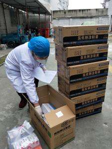 上庸鎮衛生院:暖心送藥入村  方便村民就醫