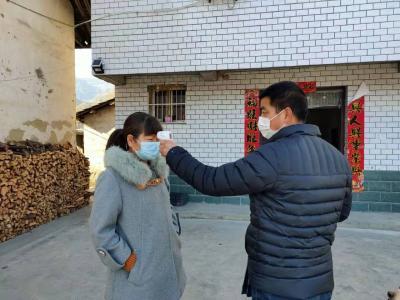 官渡鎮:多措并舉 抓實全民體溫監測