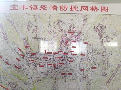 寶豐鎮:掛圖作戰嚴密防護