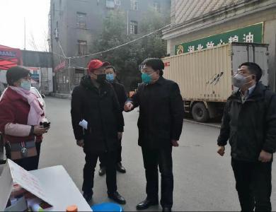 龔舉海到城區小區督導新型肺炎疫情防控工作