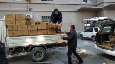 西藏捐贈3噸牦牛肉運抵竹山
