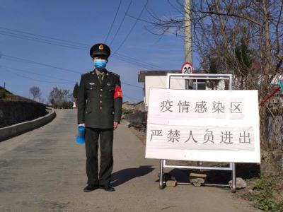 宝丰镇:军校学员战疫场上显担当