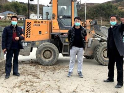 竹坪乡教师主动参与村组疫情防控