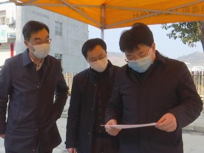 龔舉海:織密疫情防控網絡 打贏疫情防控阻擊戰