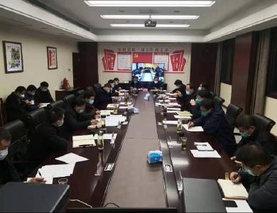 龔舉海主持召開縣委常委會議