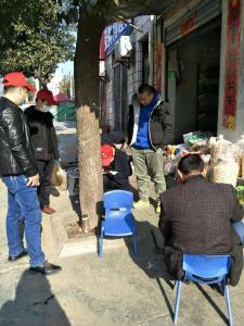 秦古鎮:抗擊疫情,志愿服務在行動