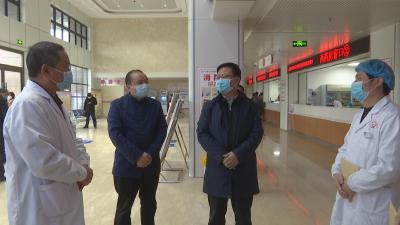 陳建平走訪慰問疫情防控一線醫療人才