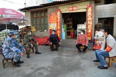 縣領導慰問竹山籍在漢一線醫護人員親屬